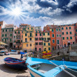 Cinque Terre, Italy. Wonderful classic view — Stock Photo