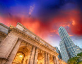 The New York Public Library. — Stock Photo