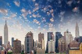 Modern metropolis skyline. — Stock Photo