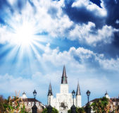Saint Louis Cathedral, New Orleans — Stock Photo