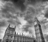 Westminster Palace and Big Ben Tower — Stockfoto