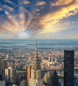 Rascacielos y edificios de oficinas — Foto de Stock