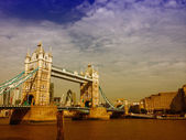 Magnificent structure of Tower Bridge in London, UK — Stockfoto
