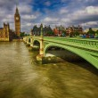 Постер, плакат: LONDON SEP 29: Tourists walk in Westminster Bridge September 2