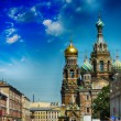 Church of the Saviour on Spilled Blood, St. Petersburg, Russia — Стоковая фотография