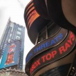 NEW YORK CITY - JUN 11: Times Square, featured with Broadway The — Stock Photo
