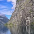 Beautiful landscape of Geiranger Fjord in Norway — Stock Photo