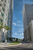 Colourful Streets of Miami on a sunny day — Stockfoto