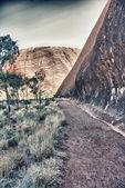 Görünüm içinde Avustralya outback güzel manzara. — Stok fotoğraf