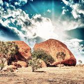 Beautiful colors of Outback in winter season - Australia — Stock Photo