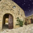 Stock Photo: Medieval Architecture and Homes of small town in Tuscany