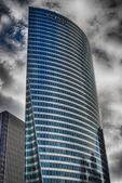 PARIS - DEC 1: Afternoon view of the major business district, La — Stock Photo