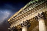Storm approaching Notre Dame de Lorette in Paris — Stock Photo