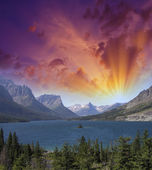 国立公園と植生の美しい色 — ストック写真