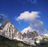 Italian Alps. Wonderful landscape and colors in summer season — Stock Photo