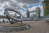 Herrliche aussicht, der tower bridge in london — Stockfoto