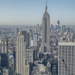 NEW YORK CITY - MAR 20: The Empire State Building on Mar 20, 201 — Stockfoto