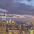 Стоковое фото: NEW YORK CITY - FEB 24: View of ManhattModern Buildings, Febr