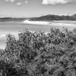 Whitehaven Beach, Queensland - Australia. Hill Inlet — Stock Photo