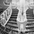 Staircase of a Modern Cruise Ship — Stock Photo