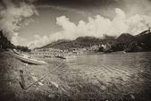 Lake of Auronzo, Italy — Stock Photo