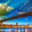 The Brooklyn Bridge Park, New York. — Stock Photo