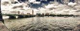 Londres. vista panorámica de la zona de westminster — Foto de Stock