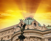 Opera Garnier in Paris, where music festivals and concerts are held — Stock Photo