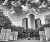 The Navy Memorial in Battery Park, Lower Manhattan - New York — Stock Photo