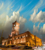 Berlin Architecture - Rotes Rathaus in Alexanderplatz - Germany — Stock Photo