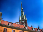 Stockholm, Sweden. Beautiful city architecture — Stock Photo