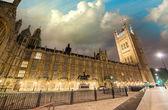 Gün batımında, Londra Palace of westminster. Parlamentosu evleri — Stok fotoğraf