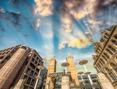 Liverpool Street Station at day time. London England. — Foto Stock