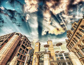 Liverpool Street Station at day time. London England. — Stock Photo