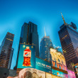 Stock Photo: NEW YORK - MAY 20: Featured with Broadway Theaters and animated