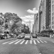 Stock Photo: NEW YORK CITY - MAY 25: Yellow cabs near Central Park area, May