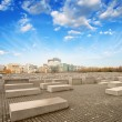 Stock Photo: Berlin, Holocaust Memorial.