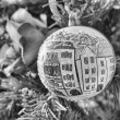 Stock Photo: Christmas balls and Tree decorations