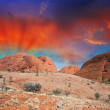 Australia. Wonderful colors of Outback in August — Stock Photo #39533833