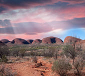 Stunning landscape of Australian Outback, Northern Territory — Stok fotoğraf