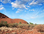 Australia. Wonderful colors of the Outback in August — Stock Photo