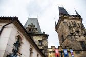 Lesser Bridge Tower of Charles Bridge in Prague — Stock Photo