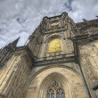 Stock Photo: Typical ancient medieval architecture in Prague