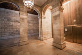 Superb architecture of New York Public Library — Foto Stock
