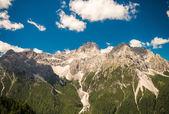 Amazing alpin landscape — Stock Photo