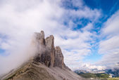 Tre Cime di Lavaredo, Three Mountain Peaks — Stock Photo