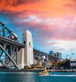 Pont Harbour bridge, sydney. — Photo