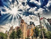 Columbus Circle — Stock Photo
