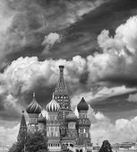 Intercession Cathedral (St. Basil's) of Moscow Kremlin — Stock Photo