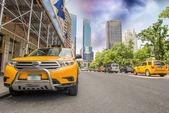 New York City. Yellow Cabs — Stock Photo